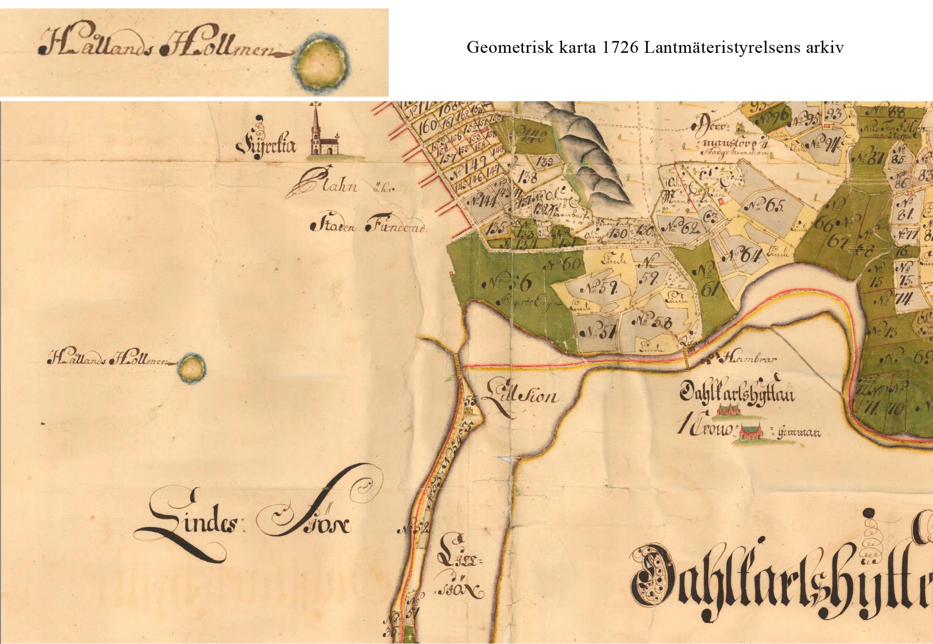 Geometrisk-karta-1726-Lantmäteristyrelsens-arkiv